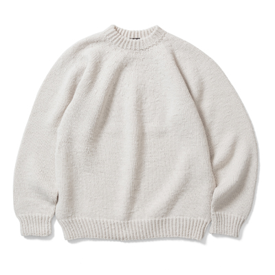 【UNISEX】HAND KNITTED SWEATER