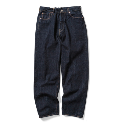【HOMME】LOOSE TAPERED JEANS