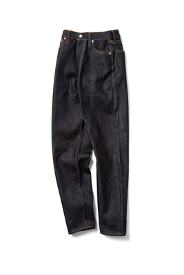 LUCY HIGH WAIST TAPERED JEANS