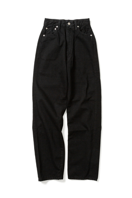KAY HIGH WAIST JEANS -BLACK-