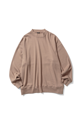 MOCK NECK LONG T-SHIRT