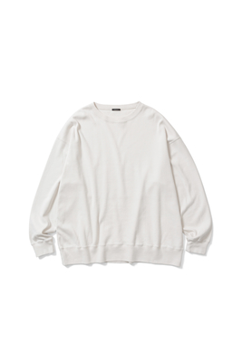 CREW NECK LONG T-SHIRT