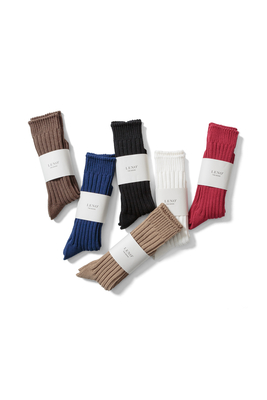 COTTON RIB SOCKS <BIG>