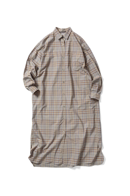 OPEN-FRONT DRESS