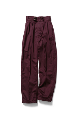 DOUBLE BELTED GURKHA TROUSERS