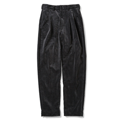 【HOMME】2 TUCK CORDUROY TROUSERS