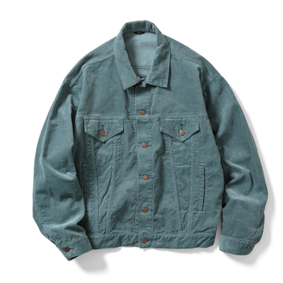 【UNISEX】CORDUROY BIG TRUCKER JACKET