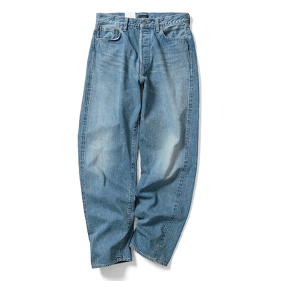 【HOMME】LOOSE TAPERED JEANS<FADE>