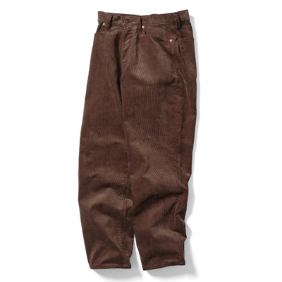【HOMME】CORDUROY LOOSE TAPERED PANTS