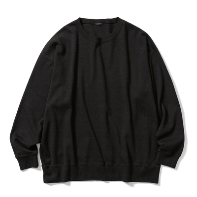 【UNISEX】CREW NECK LONG T-SHIRT