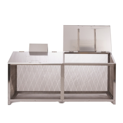 ステンレス光 生ゴミ収納BOX ワンニャンカア FH-180M/F-180M (810061)
