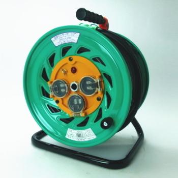 日動工業 防雨コードリール FW-E53 アース付 (800939)