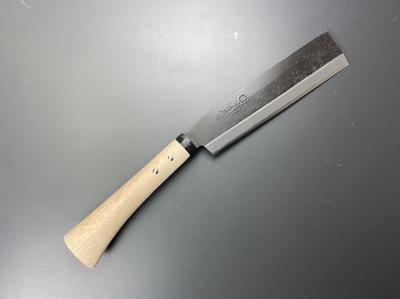 味方屋 秋田型 鉈 片刃 210mm (888365)