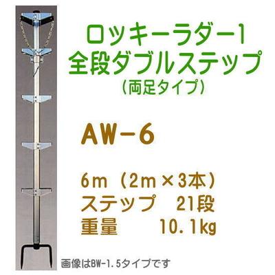 巴化成工業 ロッキーラダー1 全段ダブルステップ (890509)
