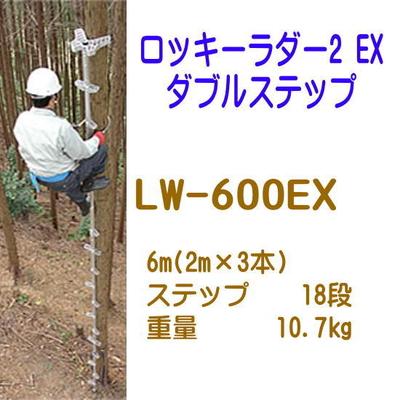 巴化成工業 ロッキーラダー2EX ダブルステップ (890552)