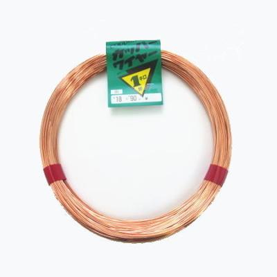 銅線 カッパーワイヤー 1kg巻き (866114)