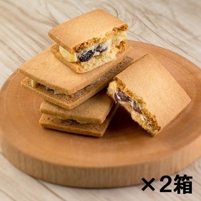 北海道レーズンバターサンド6個入2箱セット