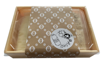 【送料込】北海道ミルクず餅300g(きな粉付)×3パックセット
