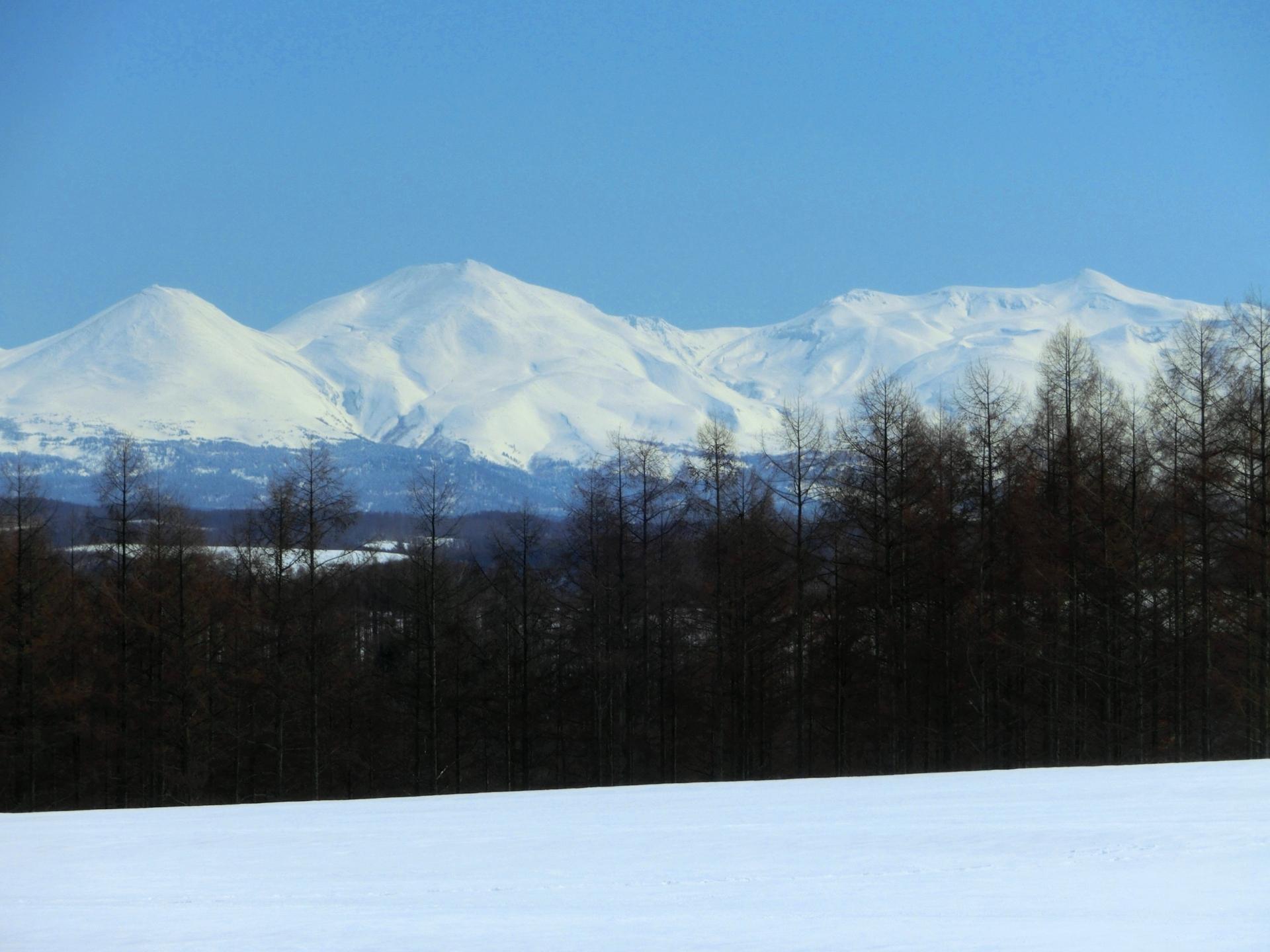 冬の大雪山
