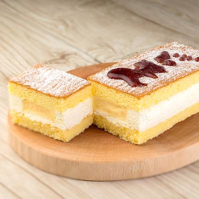 北海道プリンサンドケーキ1個