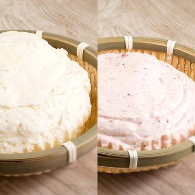 かご盛レアチーズ紅白セット