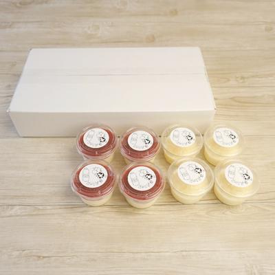 ミルクず餅ドリンクキット(プレーン4個・苺ミルク4個)8個入セット