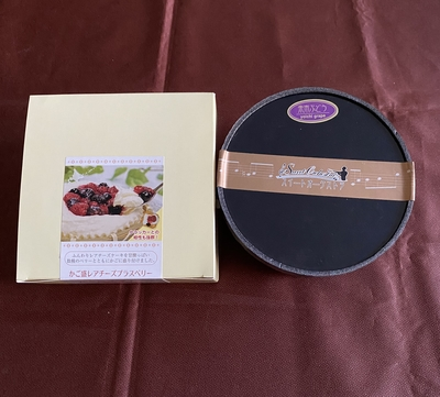 【送料込み】2種のチーズケーキセット【数量限定】