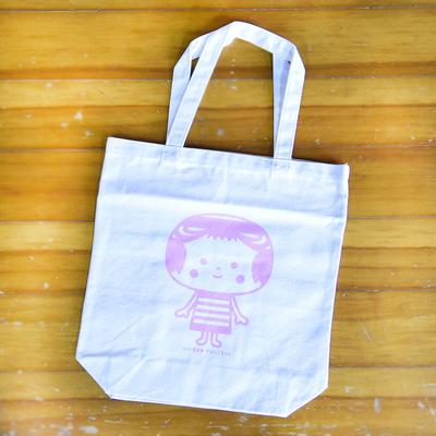 きぼっこちゃんトートバッグ全2種/ピンク