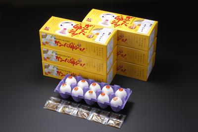 森山の温泉たまご【ガンバ卵ショ10個入り×6箱セット段ボール箱入り】