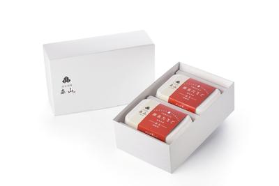 森山のプレミアムギフトセット【Bセット 源泉たまご赤玉(地養卵)6個入り×2箱】