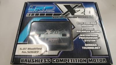 LRP X20 5.0T ブラシレスモーター 新品 10月28日UP商品