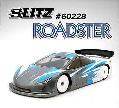 BLITZ  ROADSTER 190㎜/0.5mm ボディーステフナー付