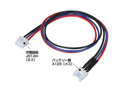 KAWADA タミヤLi-Fe用 変換コネクター30cm
