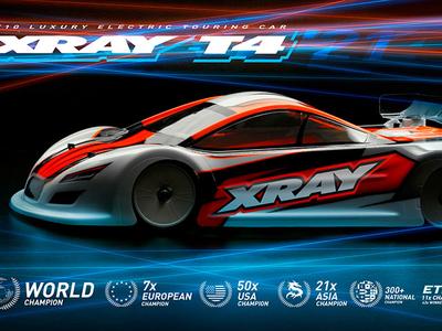 XRAY T4 2021 EPツーリングカーキット【カーボンシャーシ仕様】
