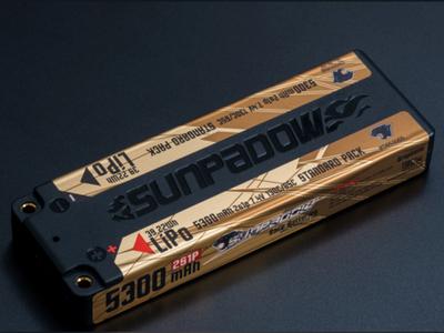SUNPADOW 7.4V / 5300mAh / 130C リポバッテリー