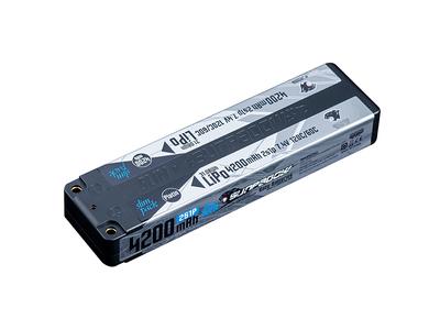 SUNPADOW 7.4V / 4200mAh / 120C Platin リポバッテリー 限定2本