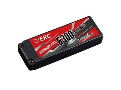 SUNPADOW 7.4V / 6300mAh / 100C ERC リポバッテリー 限定2本