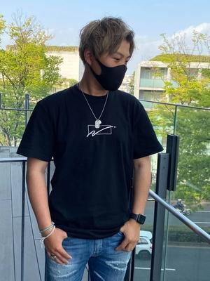 WC Naoto OCTE Tシャツ ブラック Lサイズ