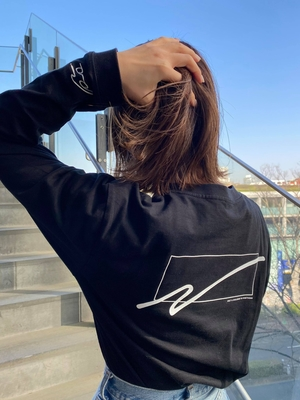 WC Naoto OCTE ロングTシャツ ブラック Lサイズ