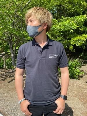 WC Naoto OCTE ポロシャツ Sサイズ 出荷4月24日からです