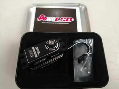 POWER HD ブラシレスサーボ S15 シルバー 美品 中古品 5月3日UP商品