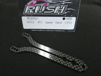 RUSH MTC2用 Upper Deck (1PC)