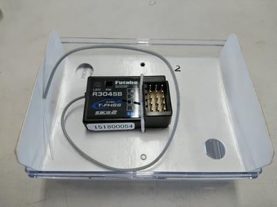 FUTABA 2.4G受信機 R304SB ② 中古品 6月11日UP商品