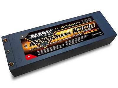 KAWADA PERMAXリポバッテリー <LCG/7.4V/6000mAh/100C>