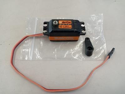 SAVOX ロープロサーボ SC-1251 中古 8月30日UP商品
