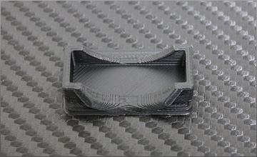 Cooling Fan Mount for 30mm size (Black)