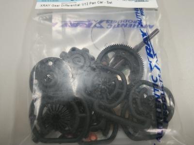 XRAY 1/12用 Pan Car ギヤデフセット 新品 未開封 10月28UP商品