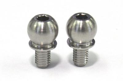 SPMチタン製 キングピンボール(全長10mmタイプ/2本入)