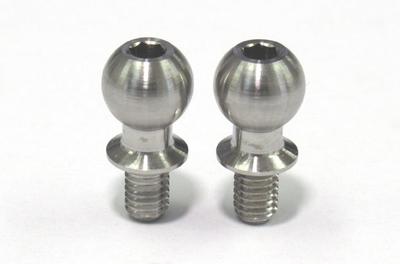 SPMチタン製 キングピンボール(全長12mmタイプ/2本入)
