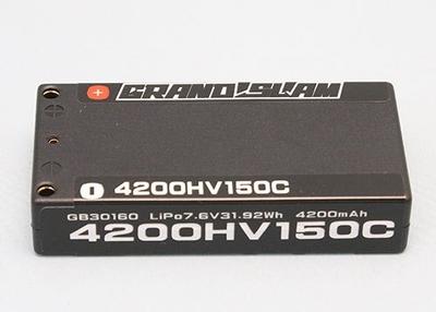 G-STYLE  GRANDSLAM 2020 LIPO  <7.6V/4200/150C/1セルサイズ/4mm>